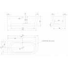 Ванна угловая KNIEF Wall Corner R 1800х800x600 правая версия (перелив щелевой)