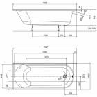 Ванна Kolo Opal 170x70 XWP137000N