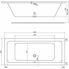 Ванна Kolo Modo 180x80 (XWP1181000)